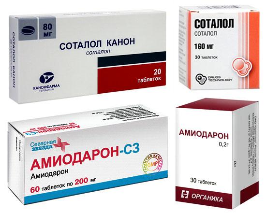 Лечение экстрасистолии медикаментами
