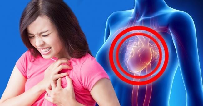 Как болит сердце у женщин?