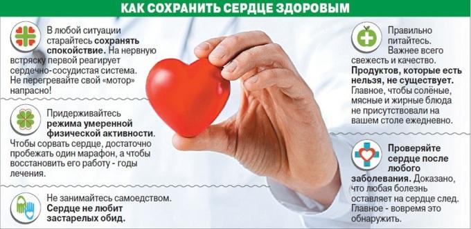 Как предупредить болезни сердца