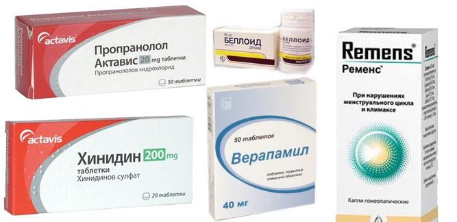 Наиболее часто назначаемые препараты