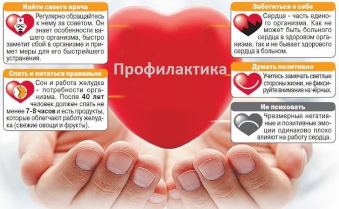 Профилактические меры при болезни