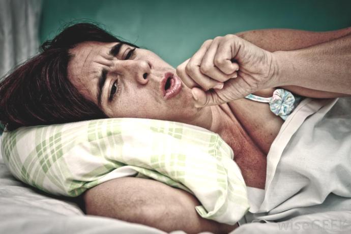 Кашель при сердечной недостаточности - симптомы