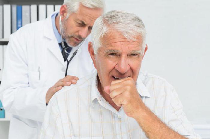 Сердечный кашель у пожилого человека